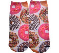 SOCQUETTES CHAUSSETTES DONUTS