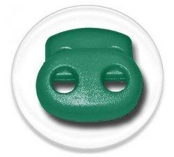 Bloqueurs-stoppeurs de lacets verts émeraude