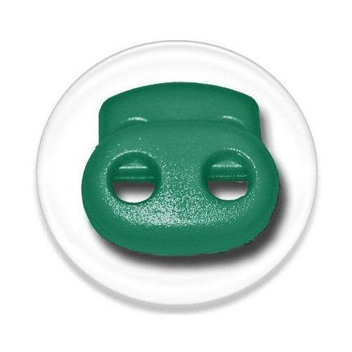 Bloqueurs-stoppeurs de lacets verts emeraude