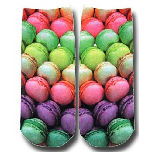 SOCQUETTES CHAUSSETTES macarons