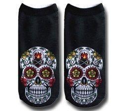 Socquettes crânes mexicains 3D