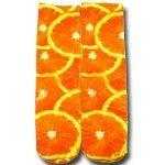 chaussettes oranges 3D