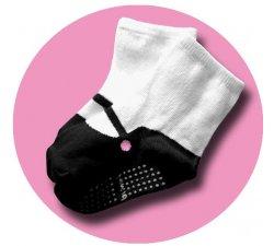 Chaussettes bébé-fille effet babies
