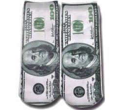Socquettes dollars 3D
