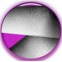 Lacets XL en satin noir effet dégradé gris