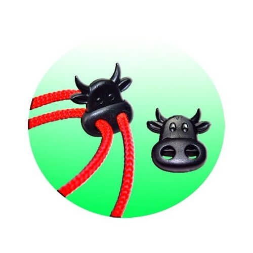 Bloqueurs-stoppeurs de lacets Vache