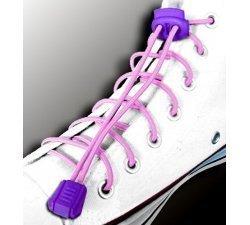 Lacets élastiques en rose pâle