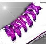 Lacets violets brillants