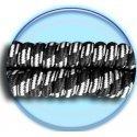 Lacets ressorts élastiques noirs blancs