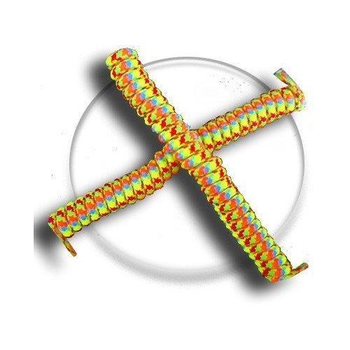 Lacets ressorts élastiques multicolores