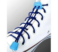 Lacets élastiques en bleu marine