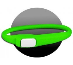 Lacet silicone vert fluo