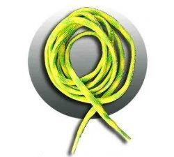 lacets ronds fluos mixés jaunes verts