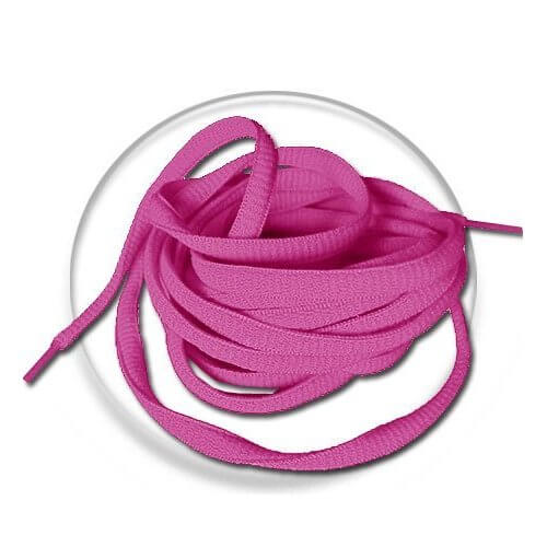 lacets ronds en fushia