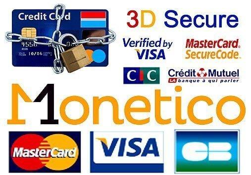 Lacets Fun : paiements sécurisés 3d secure