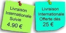 Livraison internationale offerte et gratuite lacetsfun