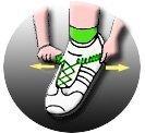 Lacets de chaussures élastiques ressorts enfants adultes dys sans noeuds magiques faciles